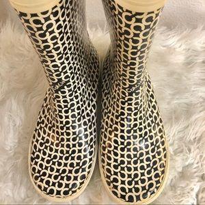 Coach Shoes - Coach Ursula Rubber Rain Boots